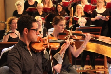 Ben Castle leads the Windfire Chamber Orchestra