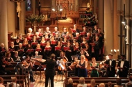 The Windfire Chamber Choir and Orchestra conducted by Rick Prakhoff