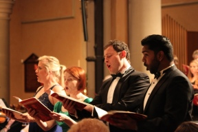 Lee Abrahmsen (soprano), Belinda Paterson (mezzo-soprano), Michael Petrucelli (tenor), Kiran Rajasingam (bass)