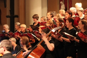 Windfire Chamber Choir and Windfire Chamber orchestra performing St Nicholas Mass by Joseph Haydn