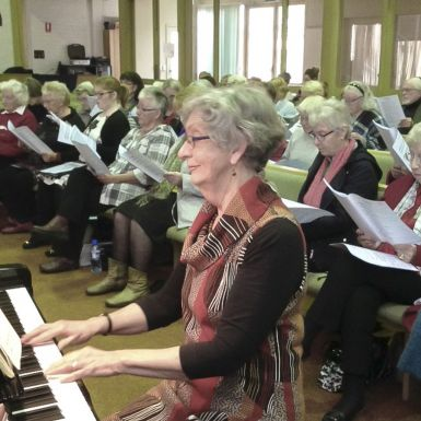 Accompanist - Anne Pilgrim