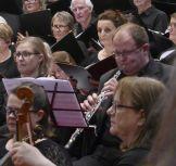 """Stephen Moschner was oboe soloist for """"Domine Deus"""""""