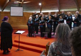 The Colac Chorale are directed by Johanna Latham