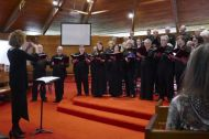 A small group from Ballarat Choral Society
