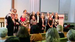 Geelong Harmony Chorus demonstrate women's barbershop singing